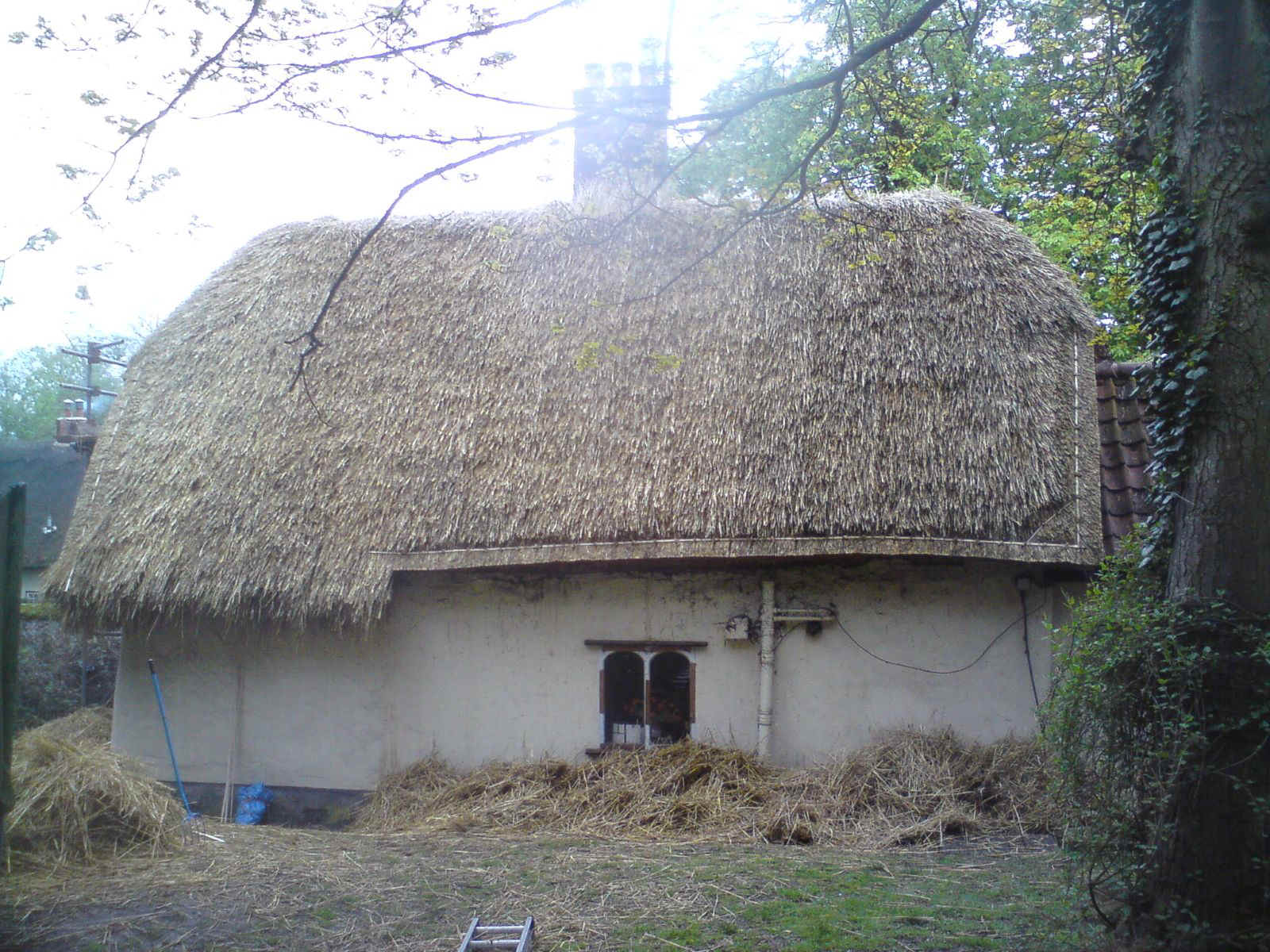 Thatching Projects undertaken by Andrew Neeves (Master Thatcher) in Suffolk, Cambridgeshire, Essex and Norfolk